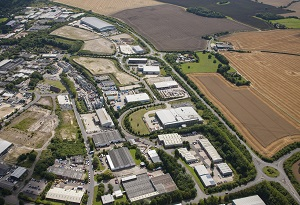 Earthworks Completed at Haverhill Business Park
