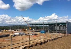 Construction begins at Genesis, Basildon